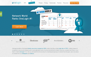 Screenshot of OneLogin