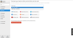 Screenshot #2 of Zoho Books (Zoho Books - Automatic Bank Feed)