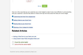 Screenshot #4 of Desk.com for Google Apps (Desk.com Articles)