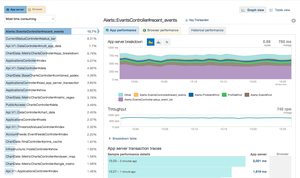 Screenshot #4 of New Relic (Web Transactions)