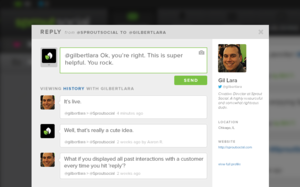 Screenshot #2 of SproutSocial ()