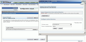 Screenshot #2 of ManageEngine ServiceDesk Plus (Importing from ActiveDirectory with ManageEngine ServiceDesk Plus)