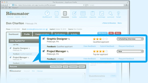 Screenshot #3 of The Resumator (Resumator - HR Software)