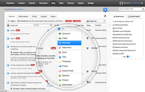 Screenshot #2 of WORK[etc] CRM (Projects with dependencies, alerts and activity streams)