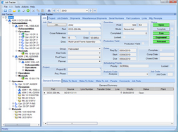 Screenshot of Epicor Manufacturing Express Edition (Epicor Express Job Tracker)