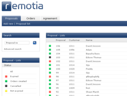 Screenshot of Remotia Proposal & Order (Proposal & Order)