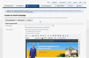 Screenshot of Pinpointe (Pinpointe - Email Marketing)