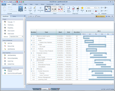 Screenshot #4 of SmartDraw (SmartDraw Gantt Chart Example)