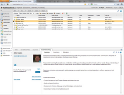 Screenshot #2 of Maximizer CRM (LinkedIn Integration)
