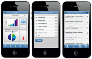 Screenshot #1 of Maximizer CRM (Mobile Access)