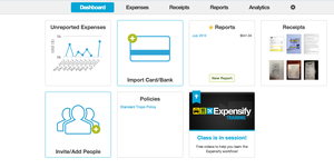 Screenshot #1 of Expensify (Expensify Web Dashboard)