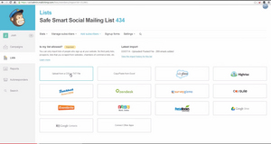 Screenshot #5 of MailChimp (MailChimp-EmailMarketing-ImportList)