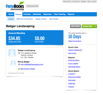 Screenshot #7 of FreshBooks (FreshBooks Client Profile)
