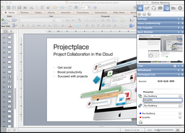 Screenshot #10 of Projectplace (Online meeting tool in Projectplace)