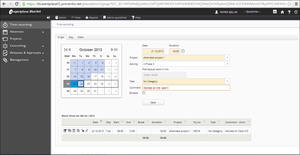 Screenshot #2 of Projectplace (Online time management tools in Projectplace)