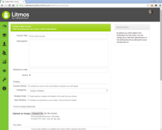 Screenshot #12 of Litmos LMS (Create a course 01)