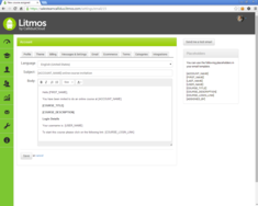 Screenshot #11 of Litmos LMS (Custom email 01)
