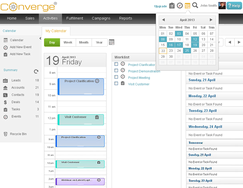 Screenshot #5 of Converge Enterprise (Calender)