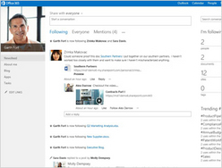Screenshot of SharePoint ()