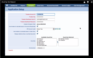 Screenshot #4 of Avalara (Intacct Sales Tax Integration)