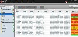 Screenshot #1 of Loc8.com (Reactive maintenance and help desk management with full SLA's and customer contracts)
