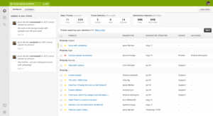 Screenshot of Zendesk ()