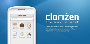 Screenshot of Clarizen ()