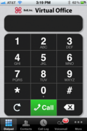 Screenshot #2 of 8x8 (VO Dialpad)