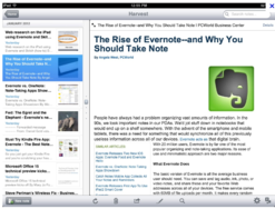 Screenshot #4 of Evernote ()