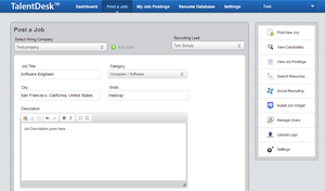 Screenshot #2 of TalentDesk ()