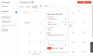 Screenshot #9 of Zoho Books (Zoho Books - Calender View)