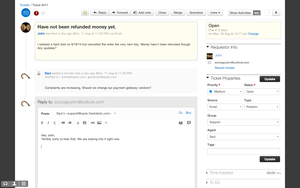 Screenshot #8 of Freshdesk (1 - Top - Email Ticketing )