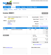 Screenshot #6 of FreshBooks (FreshBooks Create Invoice)